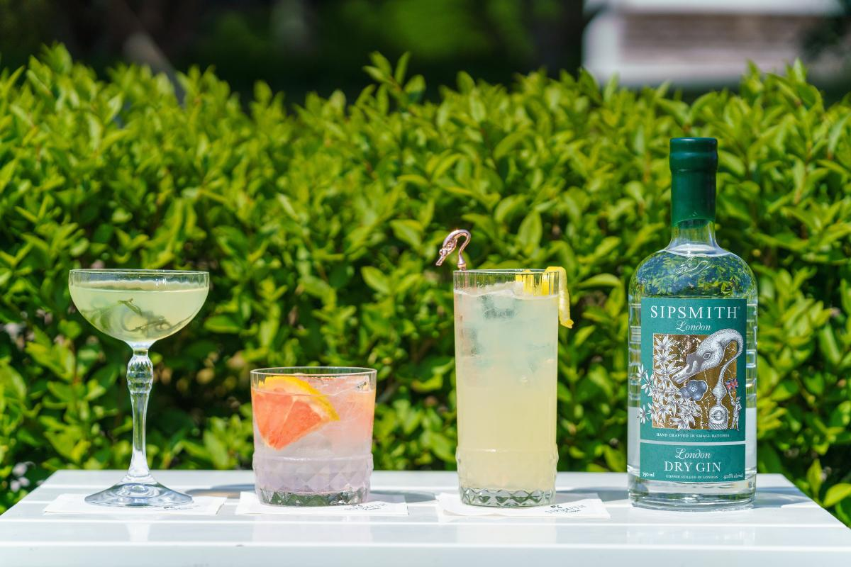 Sipsmith Sipping Terrace