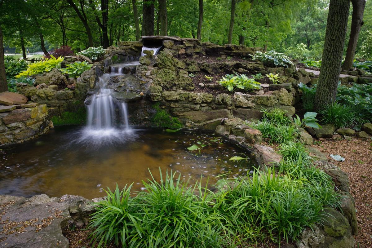 Springfield Botanical Gardens at Nathaneal Greene/Close Memorial Park