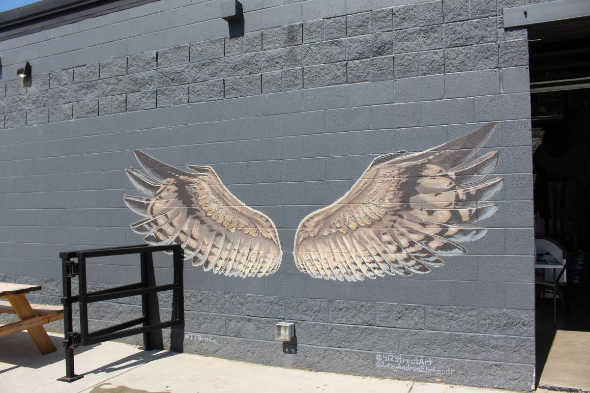 Grey Wings Mural