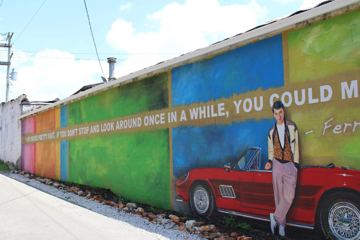 Life Moves Mural