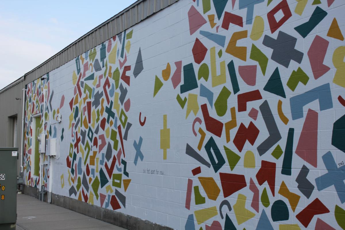 Shapes Mural