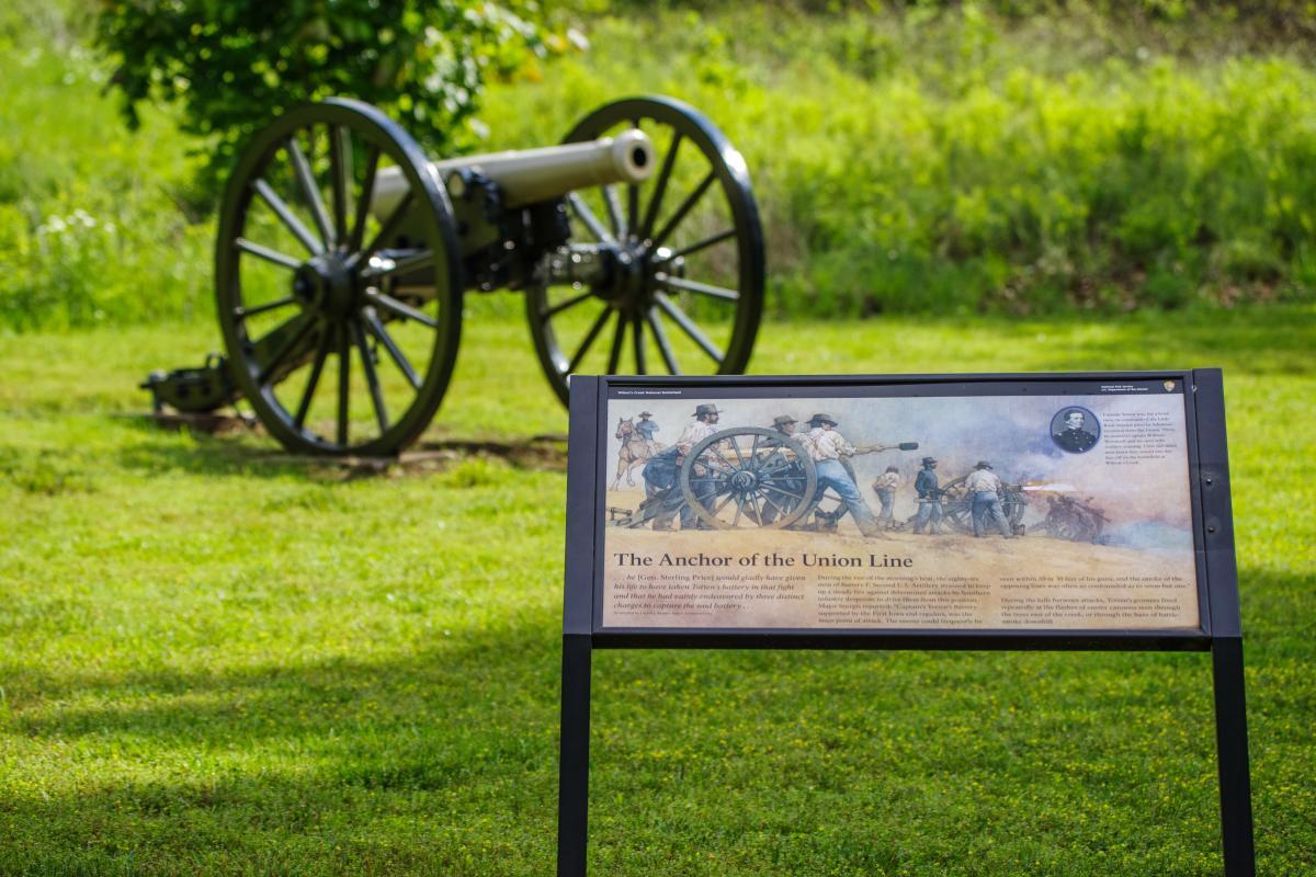 Wilson's Creek National Battlefield Visitors Center
