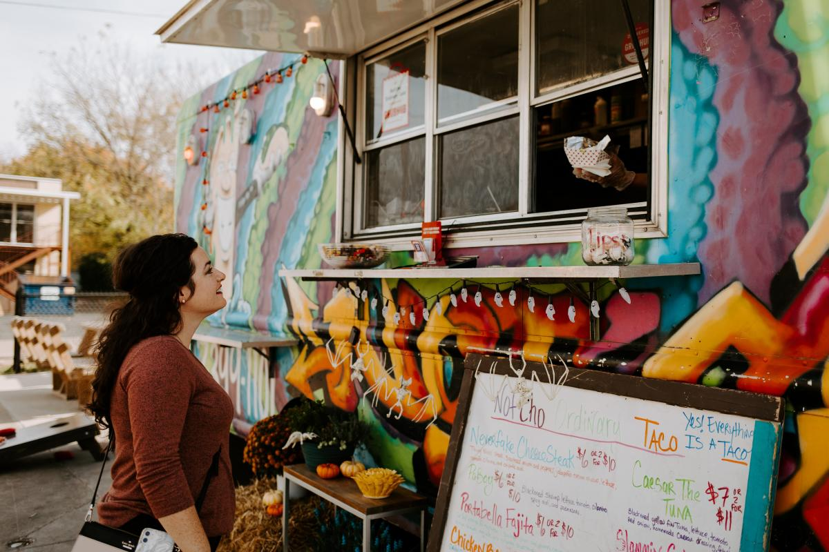 Route 66 Food Truck Park, photo by Rhianon Brown