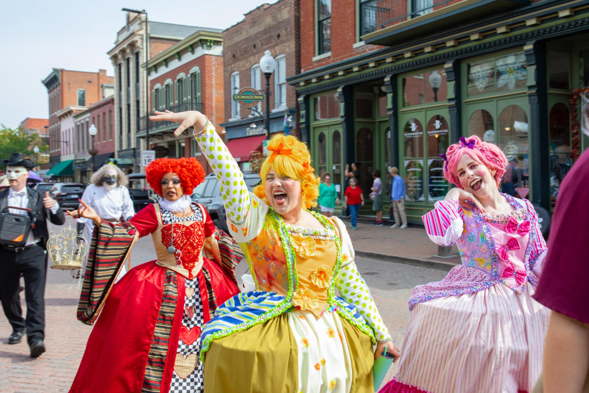 Ugly Step Sisters - Legends & Lanterns in St Charles