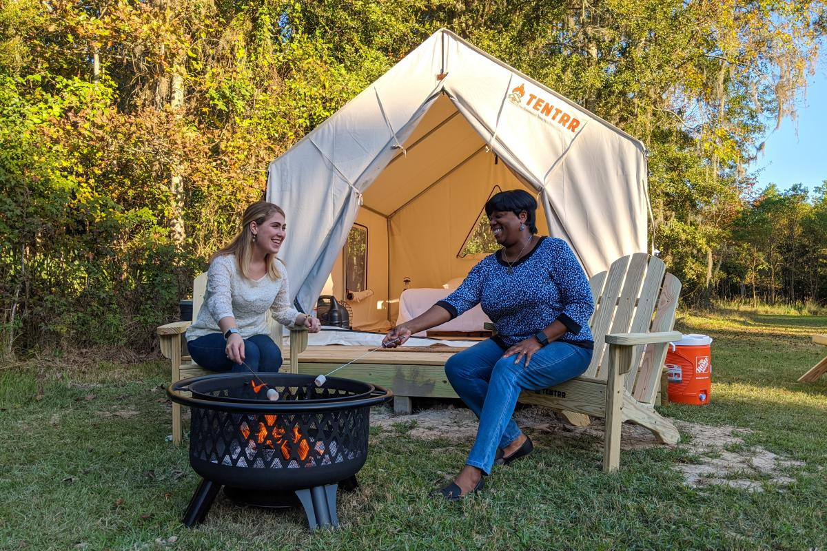 Tentrr Fontainebleau State Park Glamping Campsite