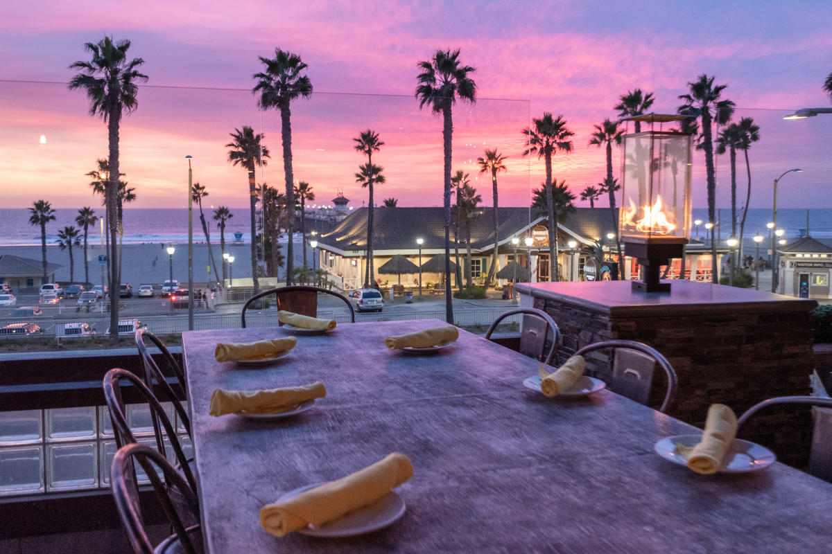 Romantic Restaurants in Huntington Beach