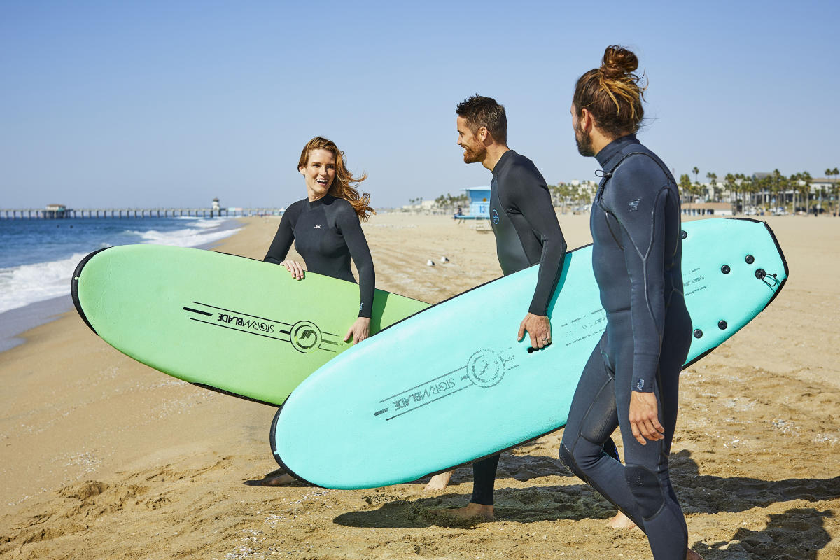 Surfing Lessons in Huntington Beach
