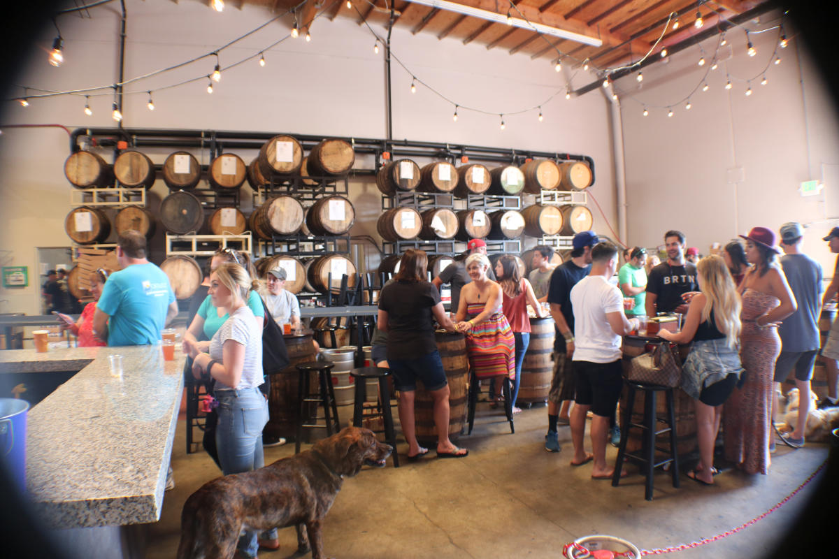 Four Sons Brewery in Huntington Beach
