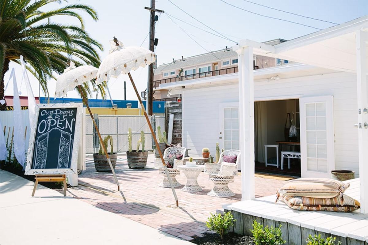 Cleobella Boutique in Sunset Beach near Huntington Beach