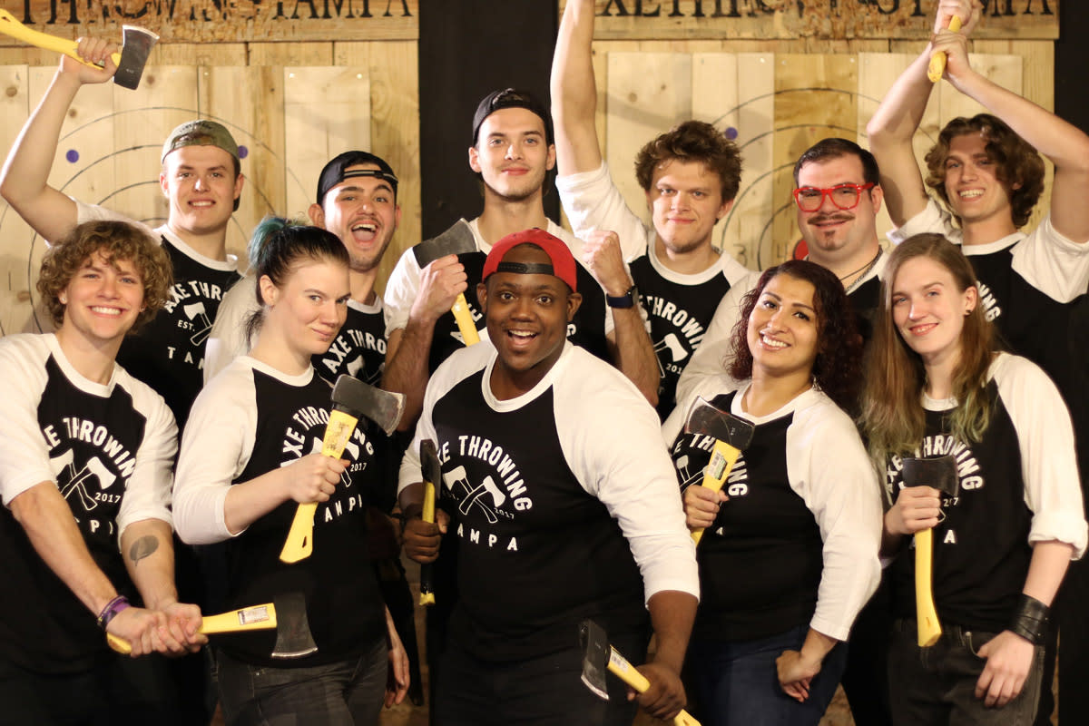 Axe Throwing Tampa