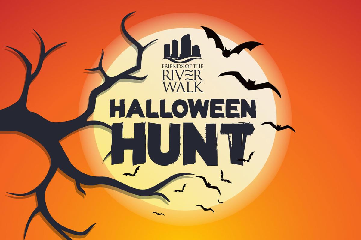 Tampa Riverwalk Halloween Hunt poster