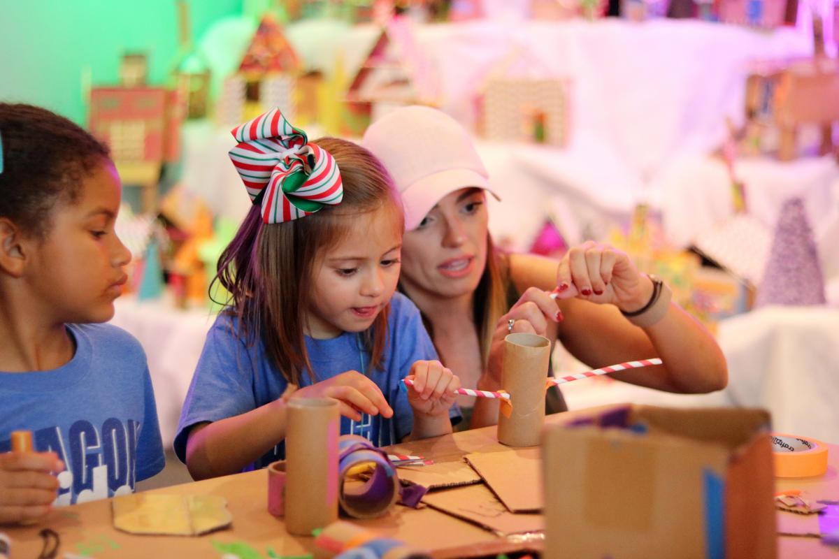 Glazer Children's Museum Gingerbread Village