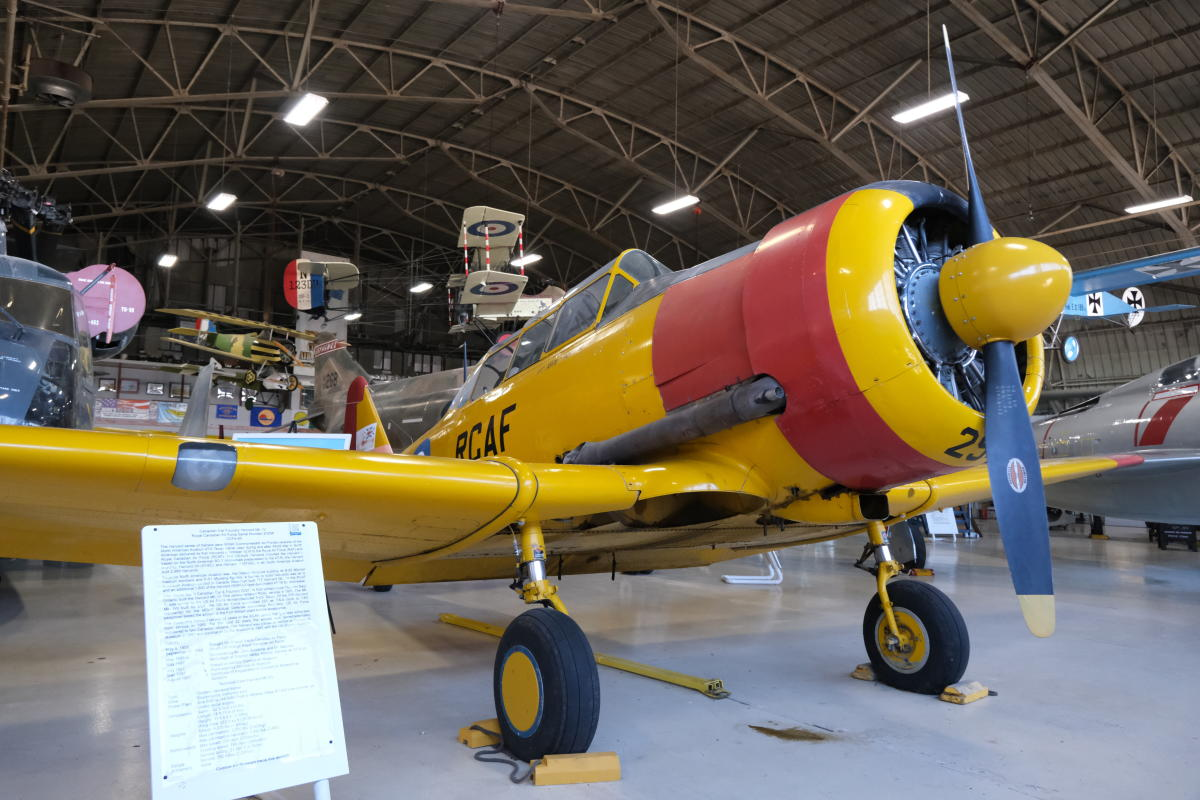 Combat Air Museum - Yellow Plane | Topeka, KS