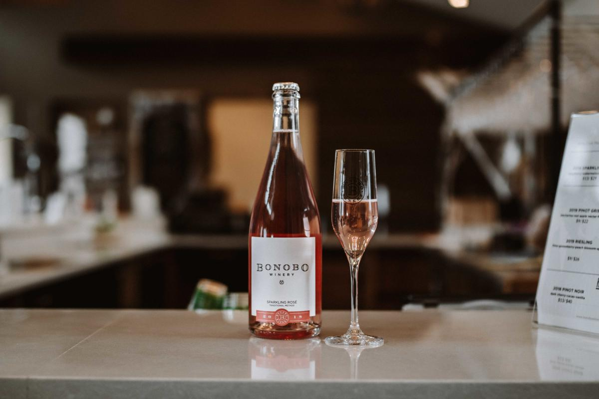 Bonobo Winery Sparkling Rose