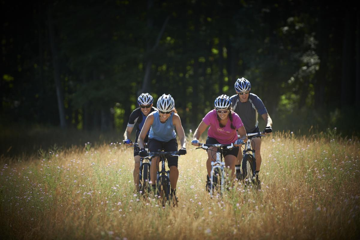 Summer Mountain Biking - Crystal Mountain Resort