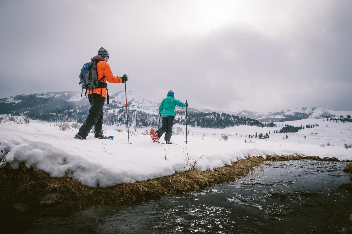 Snowshoeing and Cross Country Skiing
