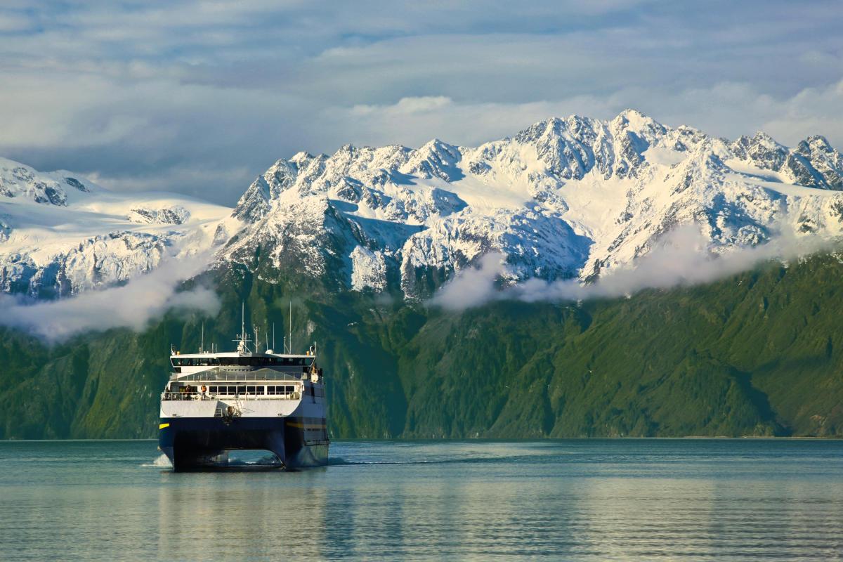 Ferry to Valdez