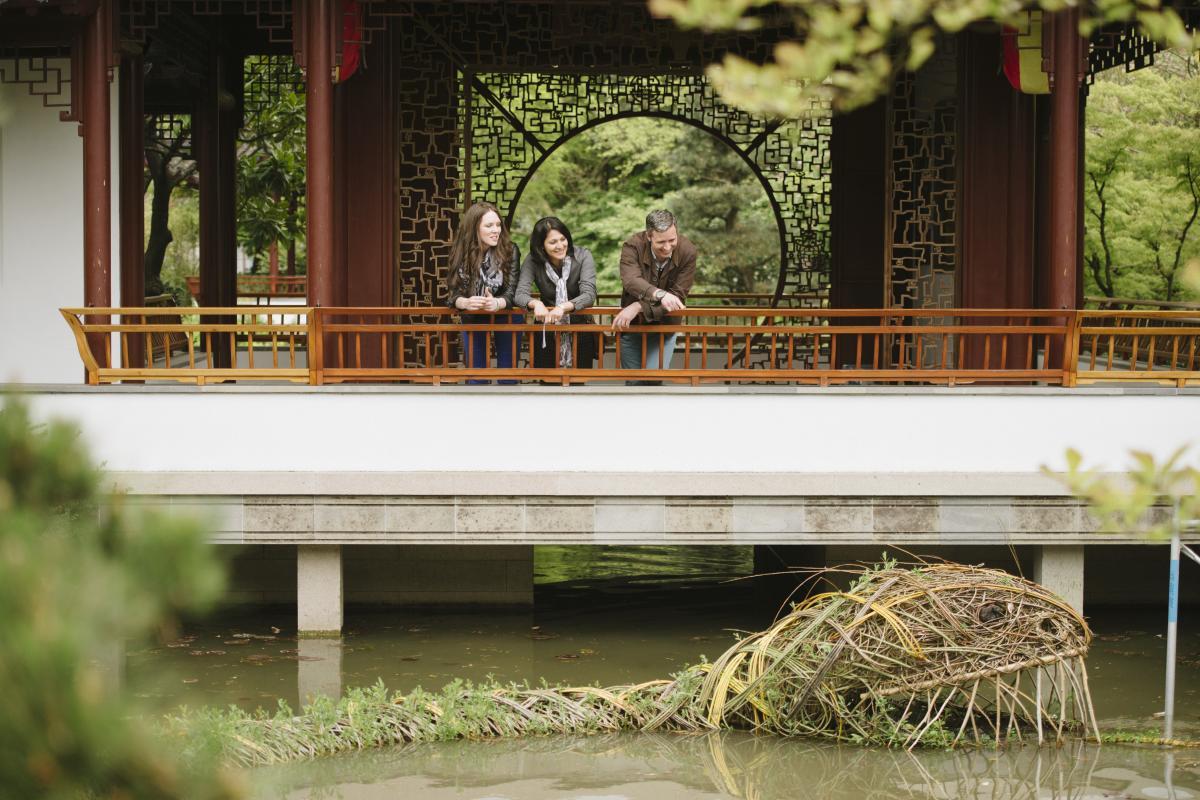 Full Size: Group at Dr. Sun Yat-Sen Classical Chinese Garden