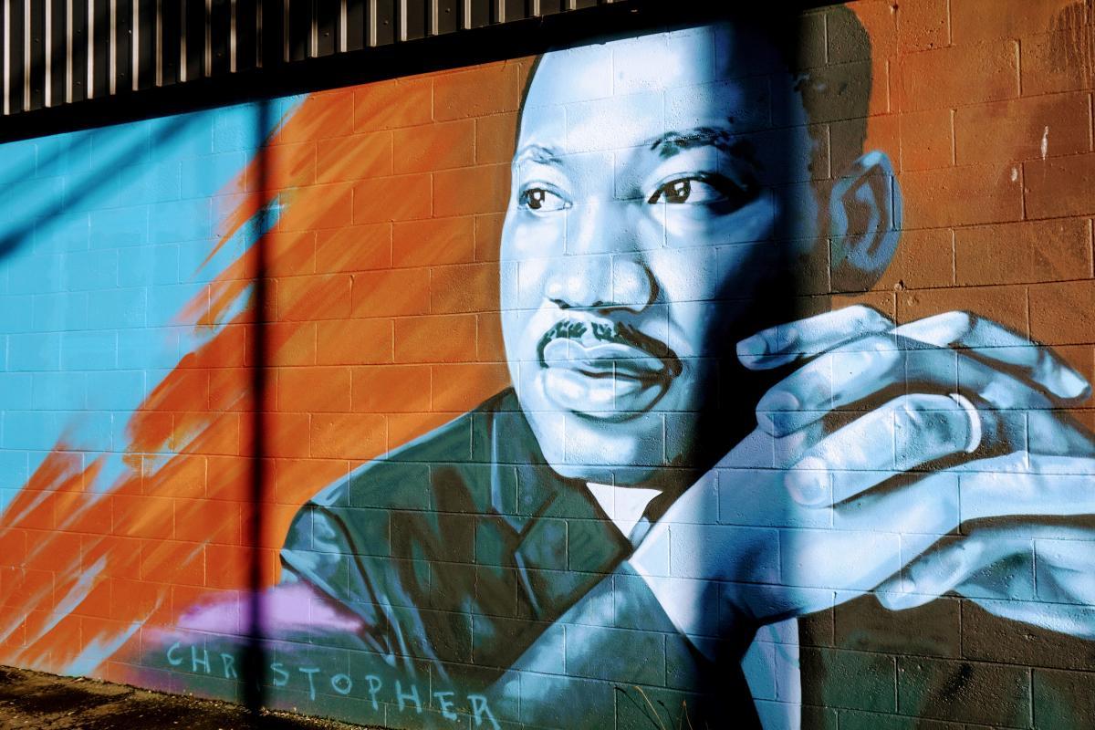Fourth Plain mural - MLK
