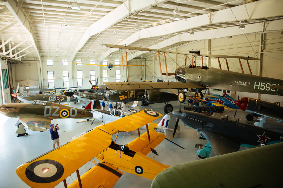 Military Aviation Museum's 2018 Biplanes & Brews event.