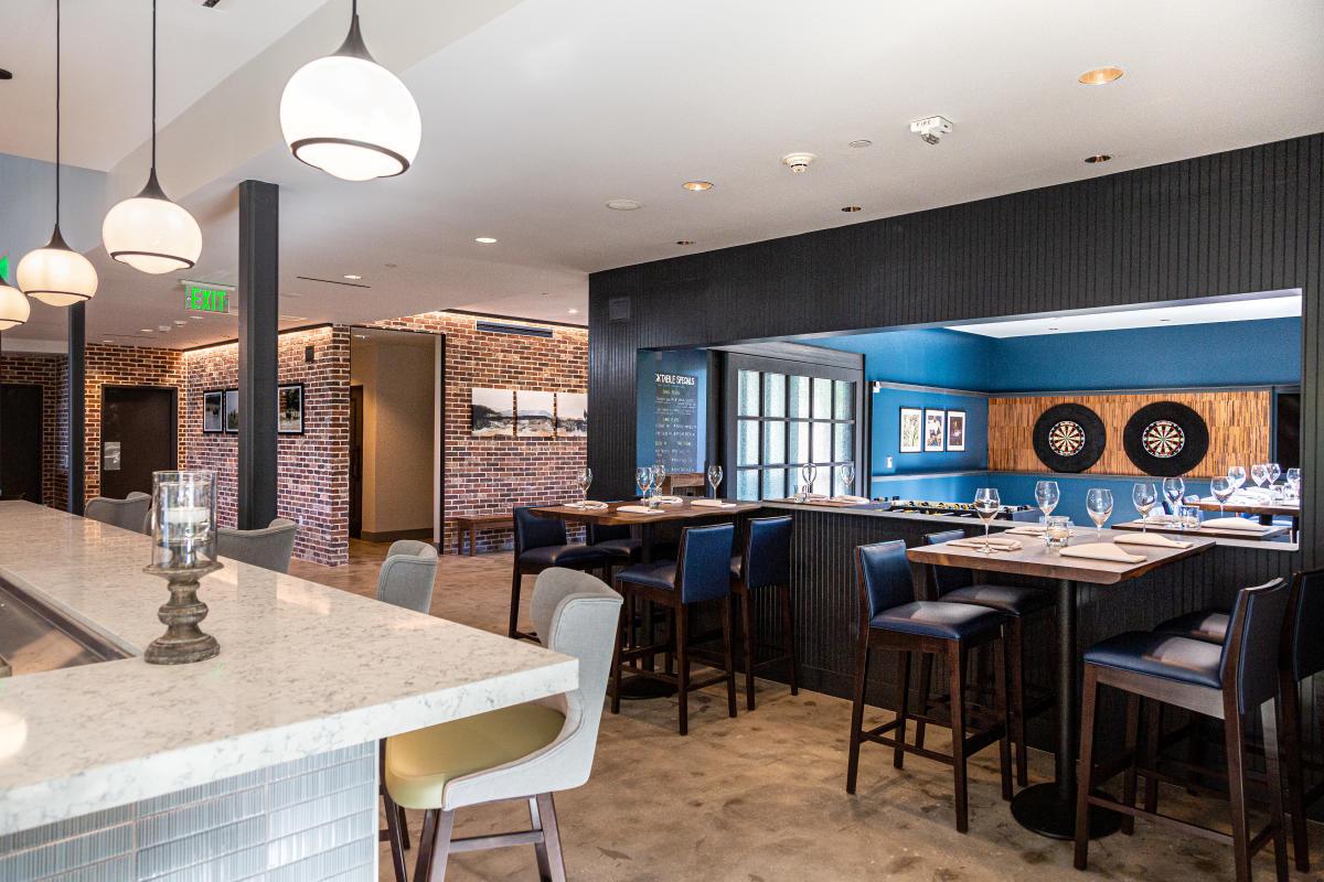 Back Table Kitchen & Bar Game Room