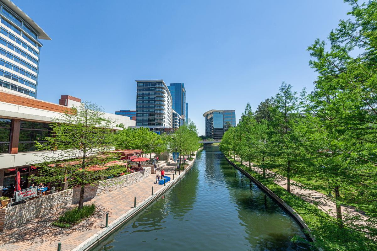 The Waterway near Waterway Square