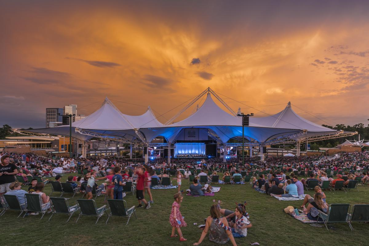 Concerts at The Cynthia Woods Mitchell Pavilion