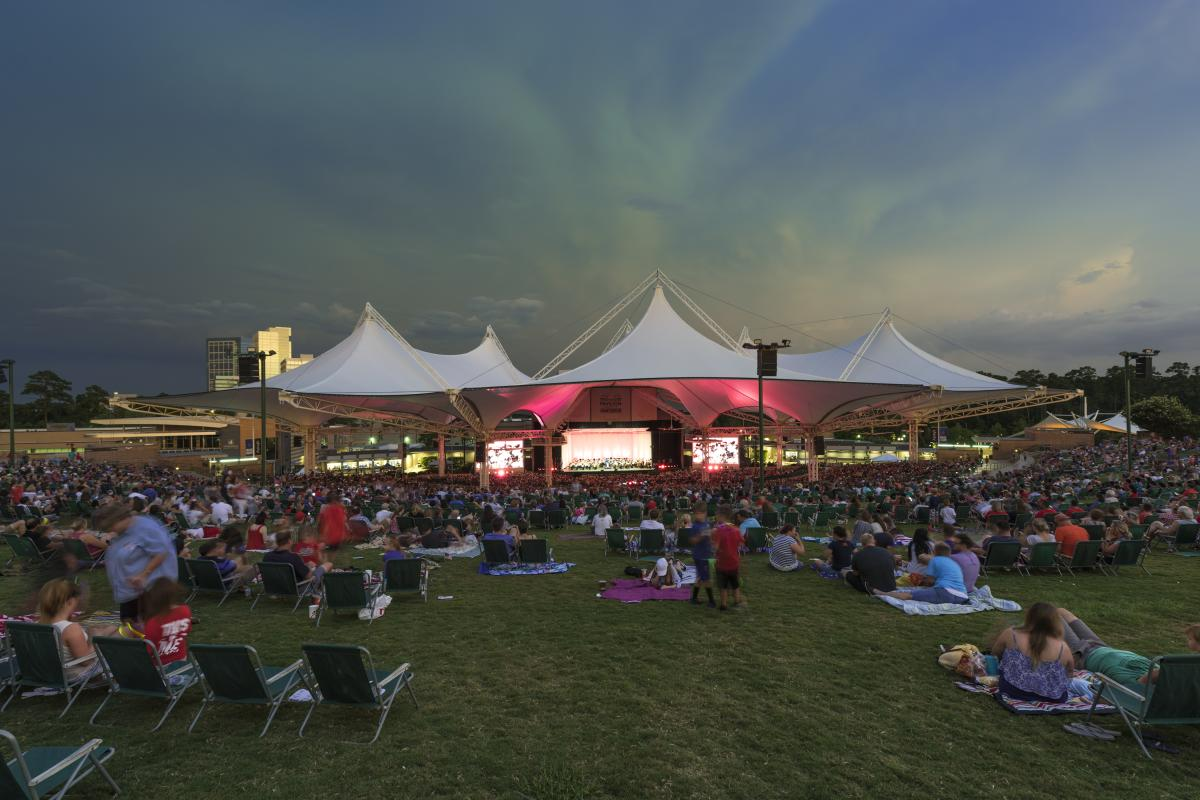 Concert at The Cynthia Woods Mitchell Pavilion