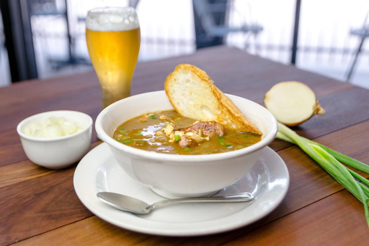 The Republic Grille Gumbo
