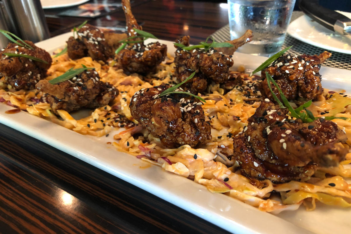 Quail Knots from Morton's Grille