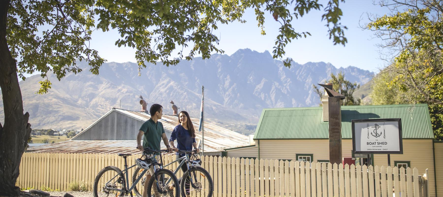 Biking The Queenstown Trail