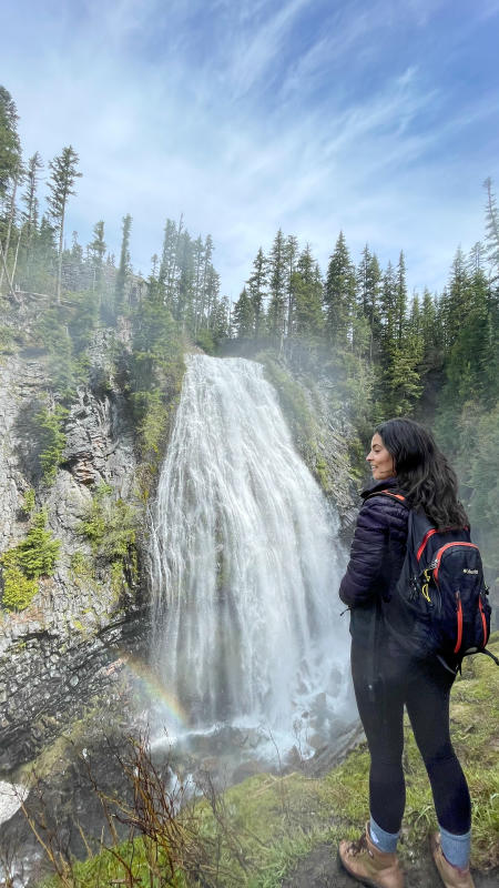 Narada Falls waterfall