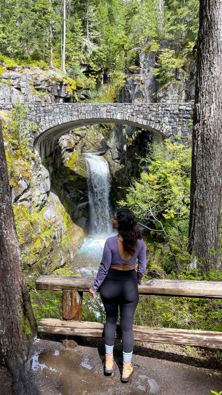 Christine Falls with Jeanine Le Wild