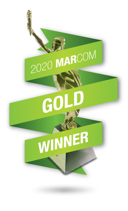 MarCom Logo Gold Winner