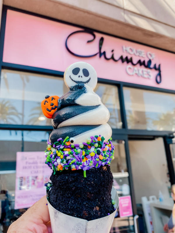 Image of Halloween-themed dessert from House of Chimey Cakes