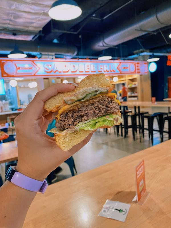 Saddleberk Butcher Burger