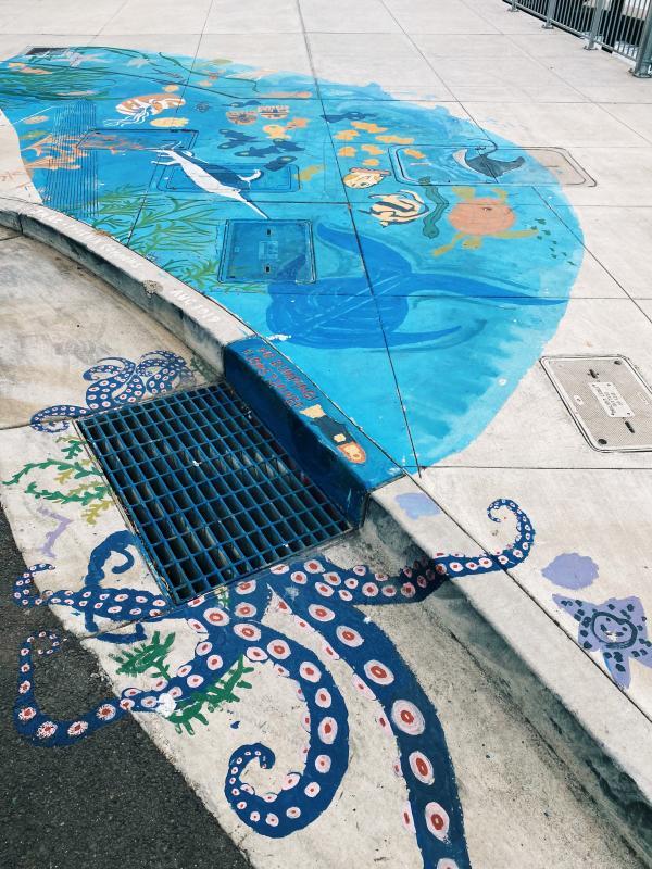 Pheonix Commons Ground Mural