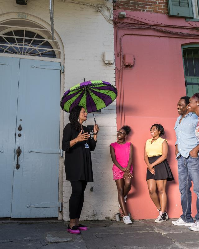 Walking Tour in the French Quarter