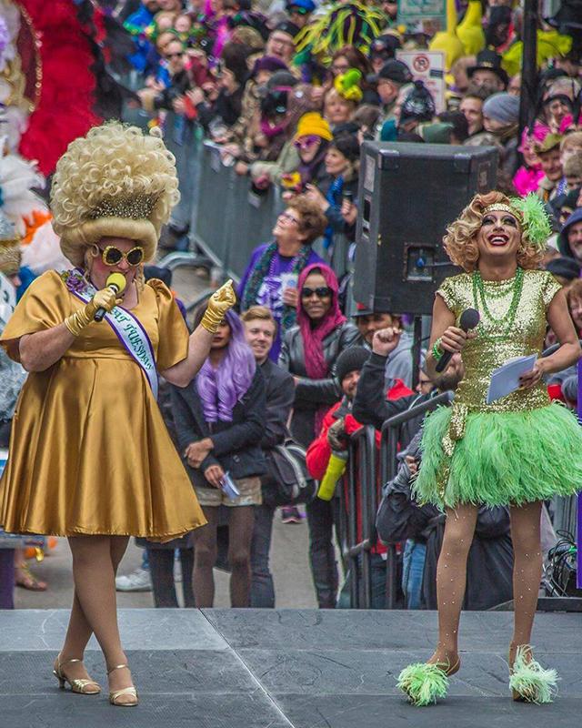 LGBT Mardi Gras - Bourbon Street Awards