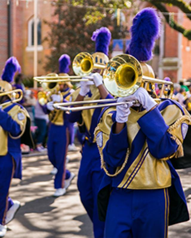 Mardi Gras Marching Band
