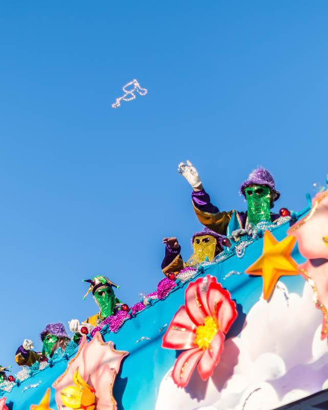 Mardi Gras Float Riders