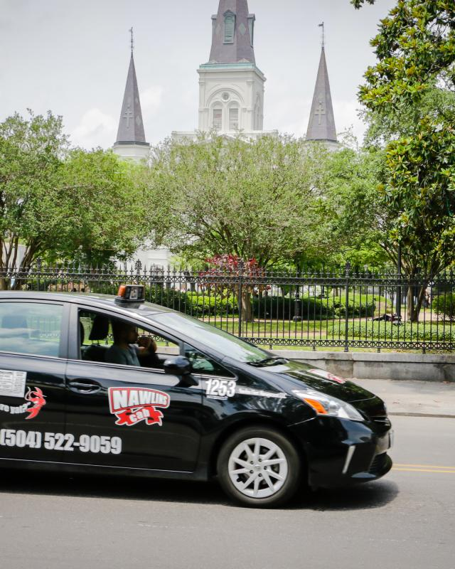 Taxis and Cabs in New Orleans