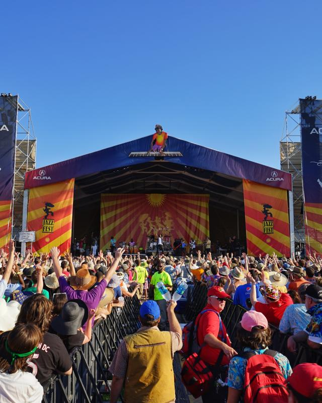 Trombone Shorty and Orleans Avenue – Acura Stage – New Orleans Jazz & Heritage Festival 2015