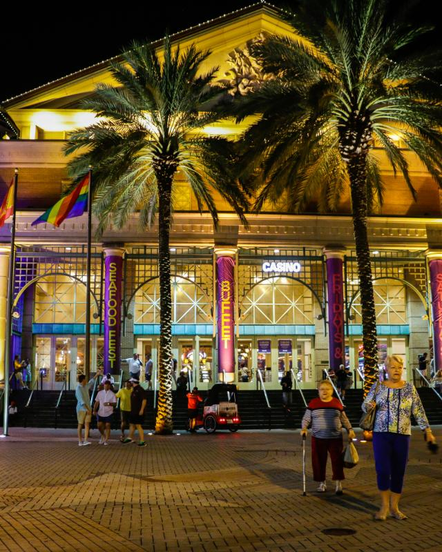 new orleans casino entertainment