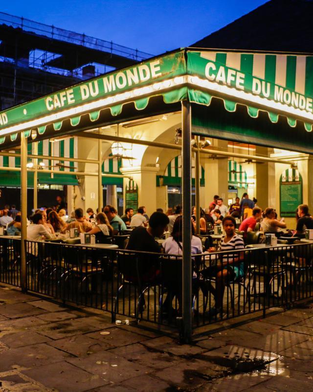 Cafe du Monde, beignets