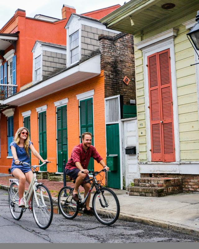 Biking in New Orleans