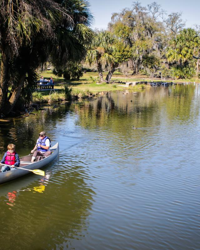 New Orleans City Park- Canoeing
