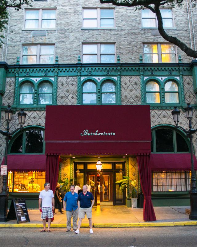 Pontchartrain Hotel, St. Charles Ave.