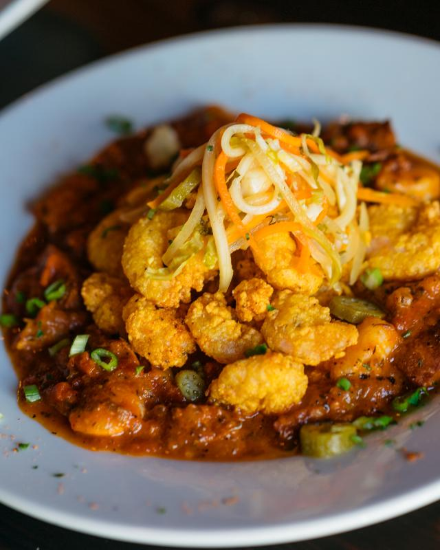 Fried Shrimp Creole – Galliano Restaurant – Warehouse District
