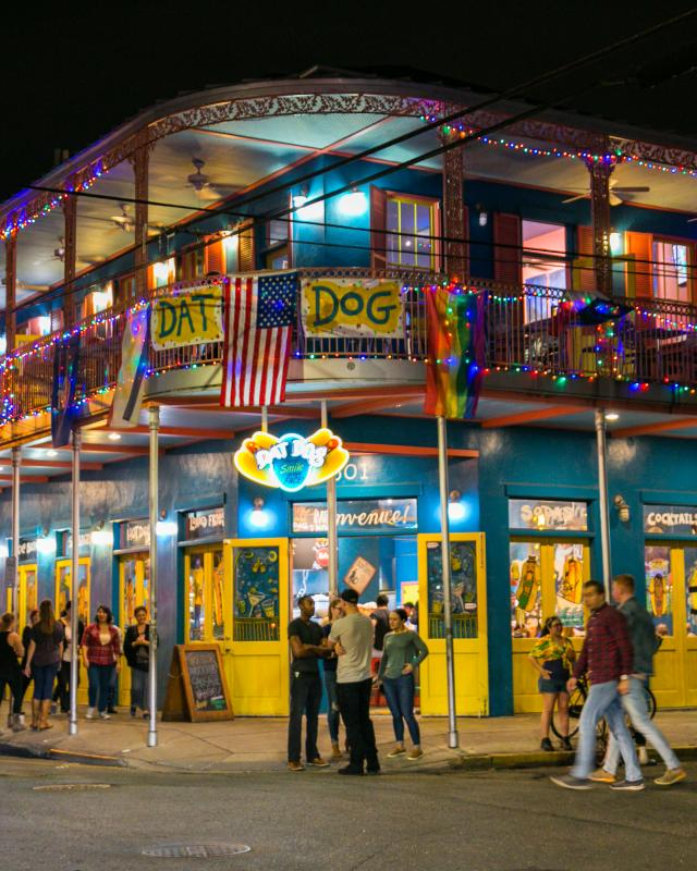 Frenchmen Street- Dat Dog